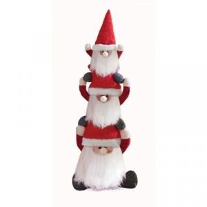 Christmas Santa Gonk Trio Doorstop