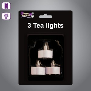 Battery Operated Tea Lights (3 Pack)