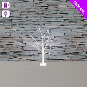 Christmas LED Birch Tree 60cm White