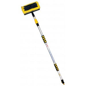 Rolson Heavy Duty Telescopic Water Fed Wash Brush 3m