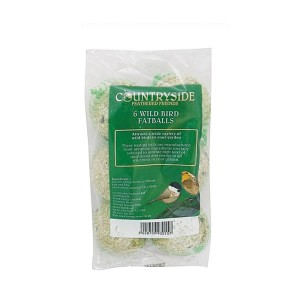 Countryside Wild Bird Fat Balls (6 Pack)