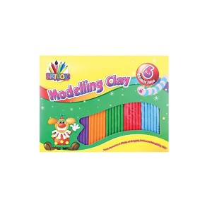 Artbox Assorted Modelling Clay (6 Pack)
