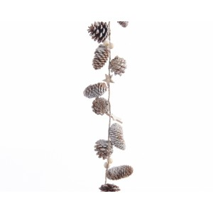 Pinecone Garland 150cm