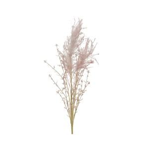 Artificial Soft Pink Plume 62cm