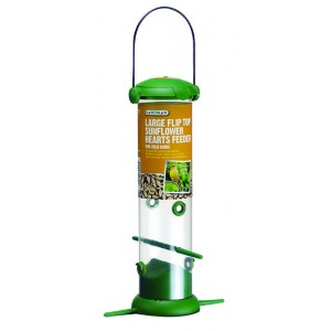 Gardman Large Flip Top Sunflower Hearts Feeder