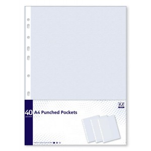 Anker A4 Punched Pockets (40 Pack)