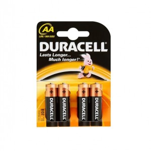 Duracell AA Batteries (4 Pack)