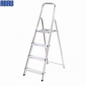ABRU Arrow Aluminium 4 Tread Step Ladder