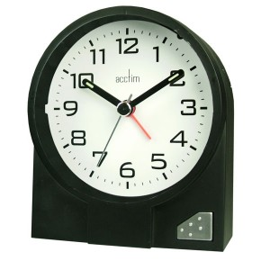 Acctim Leon Clock Black