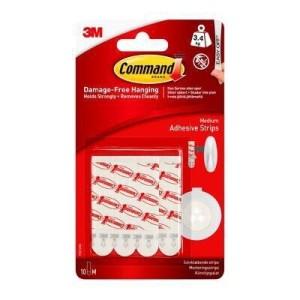 Command 3M Medium Adhesive Strips (10 Pack) 17021