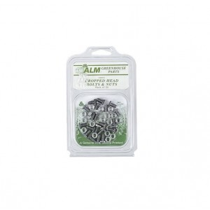 ALM Cropped Head Bolts & Nuts (20 Pack)