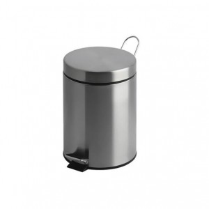 Kingfisher Angelica Stainless Steel Pedal Bin 12L