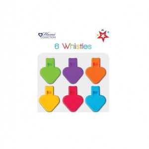 Home Collection Whistles (6 Pack)