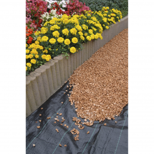 Apollo Heavy Duty Weed Control Fabric 18m x 1m