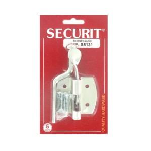 Securit S5131 Zinc Plated Auto Gate Latch