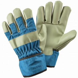 Kids Rigger Blue Gloves (8-12 Years)