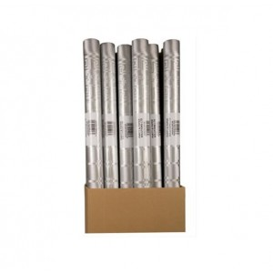 PPS Damask Banquet Roll 8m x 1.18m Silver
