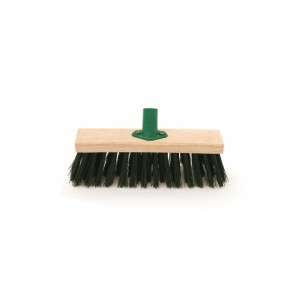 Bentley Green PVC Broom With Bracket 11""