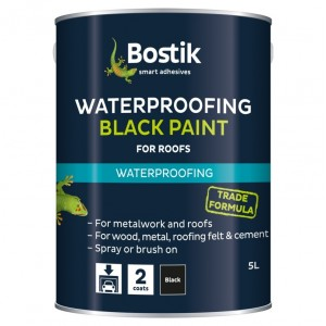 Bostik Waterproofing Black Paint 2.5L