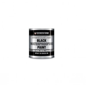Cementone Bitument Paint 5L Black