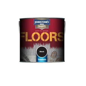 Johnstone's Garage Floor Paint 250ml Black