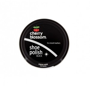 Cherry Blossom Shoe Polish 50ml Black