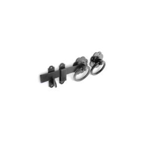 Securit S5136 150mm Ring Gate Latch (Black)