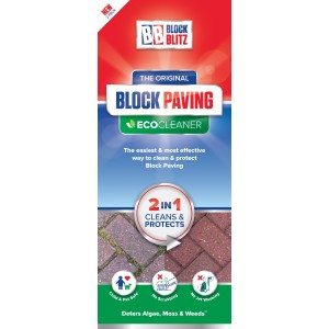 Block Blitz Block Paving Cleaner (2 Pack)