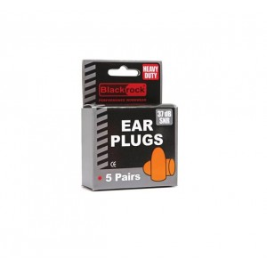 Blackrock Foam Ear Plugs (5 Pairs)