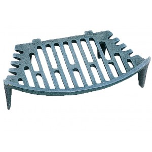 "16"" Curved Fire Grate"
