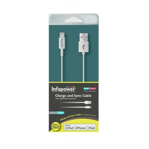 Infapower Charge & Sync USB Cable 1m