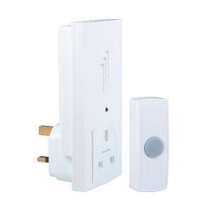 Byron Plug Through Door Chime Kit