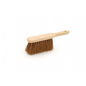 "Forester 11"" Soft Bristle Wooden Handbrush"