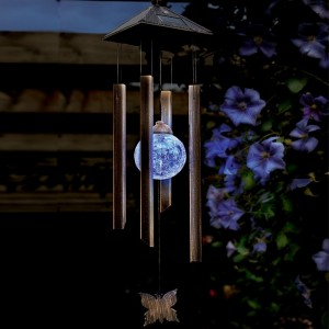 Cole & Bright Solar Butterfly Wind Chime Light