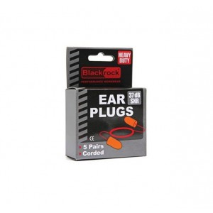 Blackrock Corded Foam Ear Plugs (5 Pairs)