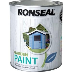 Ronseal Garden Paint 2.5L Cornflower