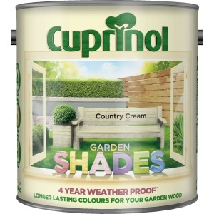Cuprinol Garden Shades Country Cream 2.5L