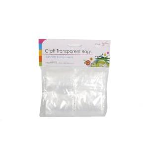 Craft Transparent Clip Bags