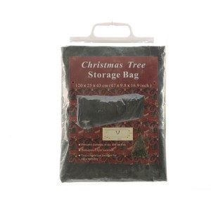 Kaemingk Christmas Tree Storage Bag 120 x 25 x 43cm Green