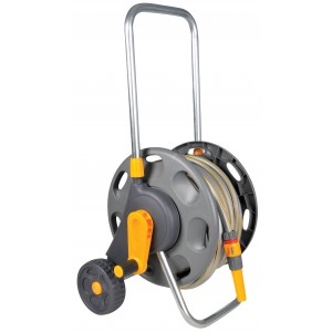 Hozelock Hose Cart with 25m Hose and Fittings