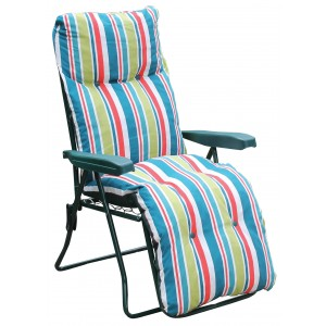 Multi Position Striped Relaxer