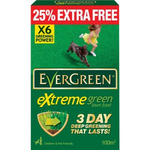 Evergreen Extreme Green Lawn Food 3.5KG