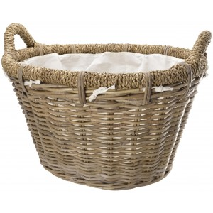 Manor Rosewood Rattan Basket