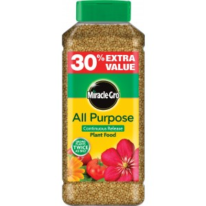 Miracle-Gro Slow Release Plant Food 1KG (+30% Extra)