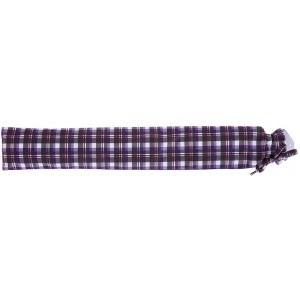 Intelex Long Hot Water Bottle - Purple Tartan