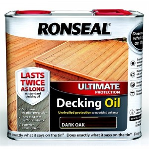 Ronseal Ultimate Protection Decking Oil 2.5L Dark Oak