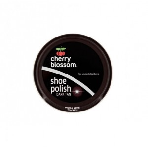 Cherry Blossom Shoe Polish 50ml Dark Tan