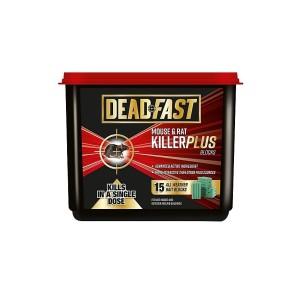 Deadfast Mouse & Rat Killer Plus Block