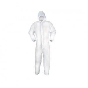 Fit For The Job Disposable Lightweight Coverall Suit (UK Medium)