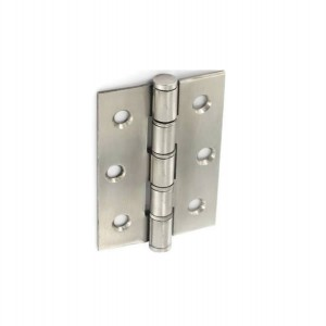Securit S4294 Double Washered Stainless Steel Hinges 75mm (Pair)